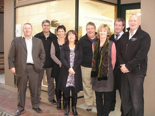 Trust Aoraki Board and Management outside new premise